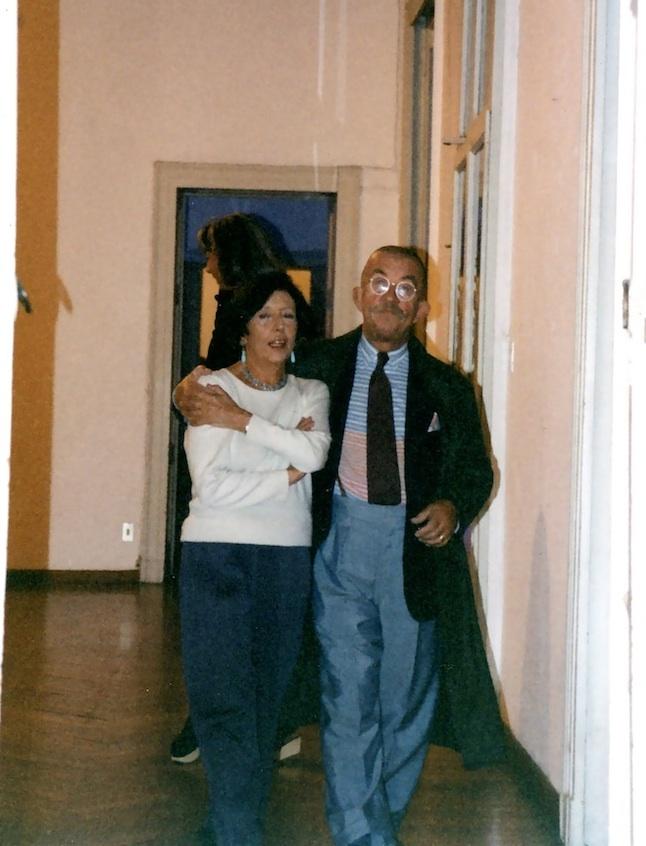Carla Pellegrini e  Davide Mosconi