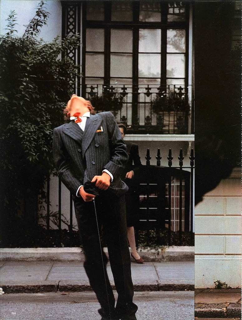 Davide Mosconi, Londra, il classico irriverente