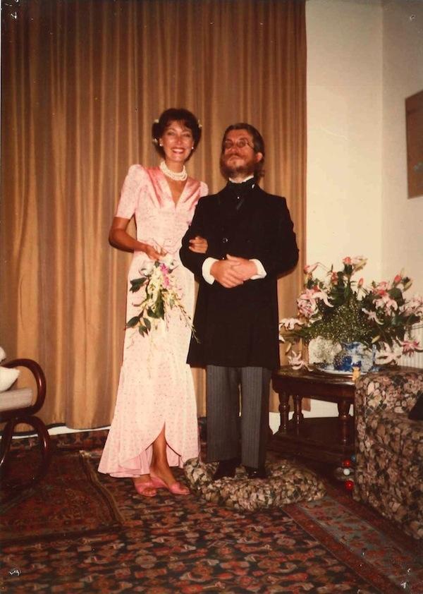 Inez Klok e Davide Mosconi,Londra,South Kensington, il giorno delle nozze