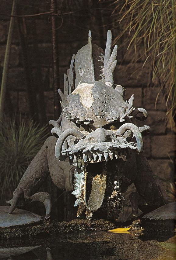 La fontana giapponese detta del Drago acquisita Da Thomas Hanbury (ph. ∏Simone Sciutto)