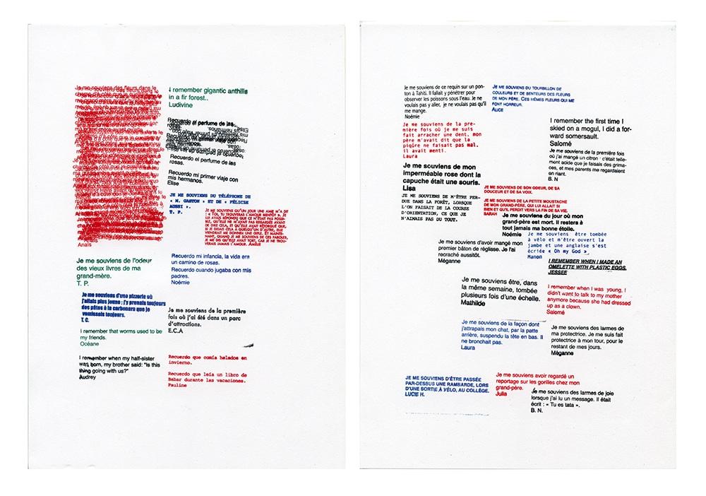 Gianpaolo Pagni, Mémoire Tampon©Edizioni HomecookingBooks, Maison Rouge