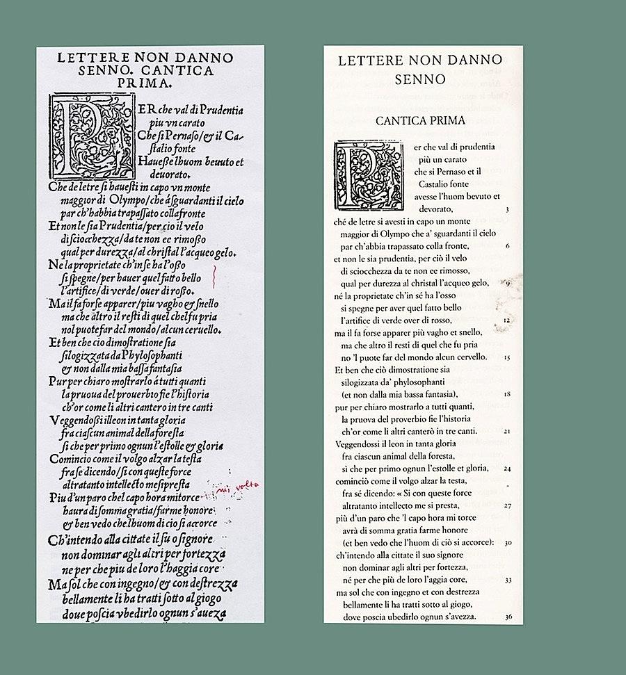©Aloyse Cynthio de gli Fabritii, Libro della origine delli vulgari proverbi,  Spirali, 2007