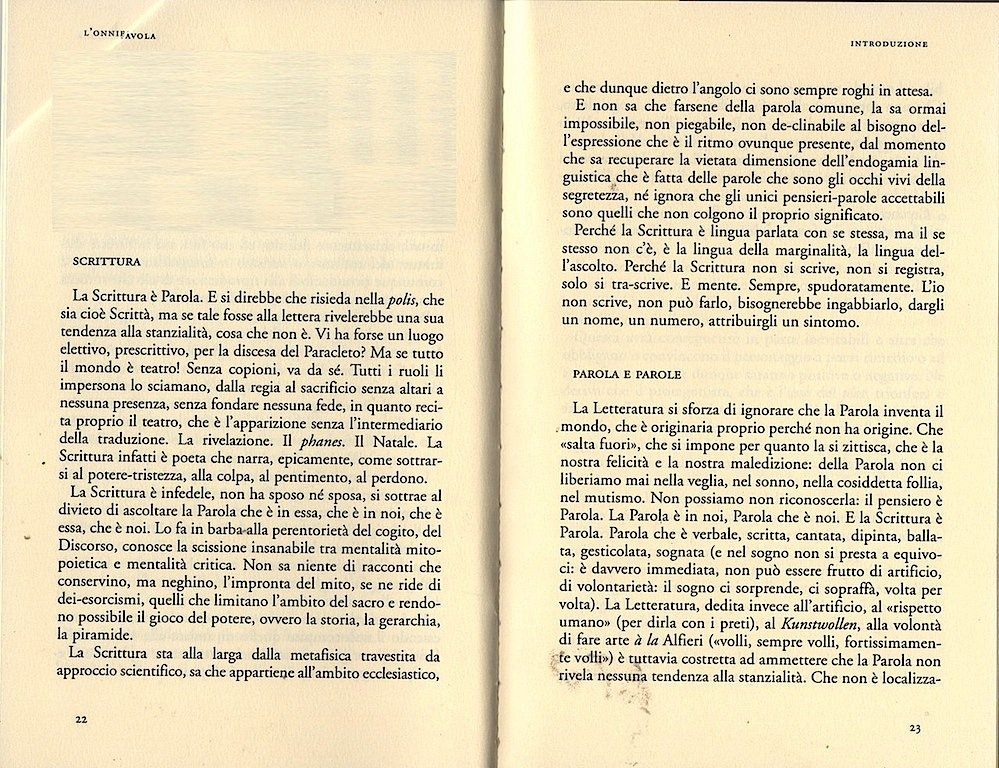 ©Francesco Saba Sardi, L'onnifavola, Bevivino Editore, 2010