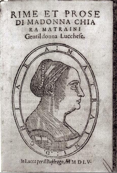 Chiara Matraini (1515 - 1604)