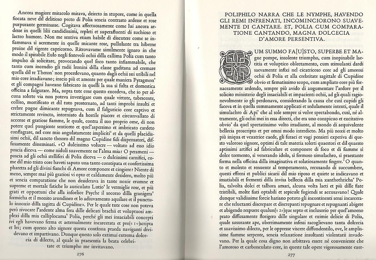 Francesco Coolonna,Hypnerotomachia Poliphili