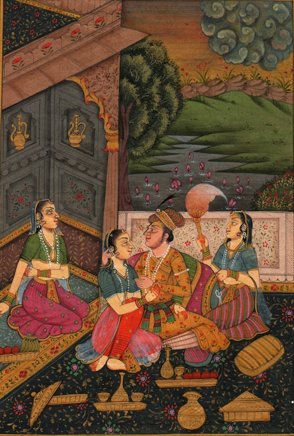 India, Miniature, XVII secolo