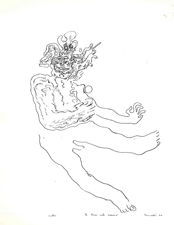 Tancredi, La luna nel cranio, 1960