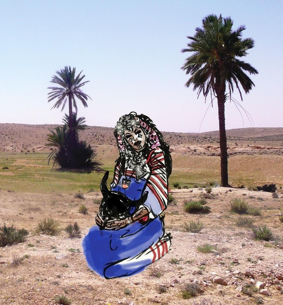 © Miryam Molinari - Berbera nel deserto